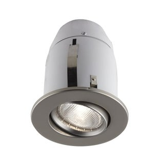 Bazz Lighting 900-114S RF PAR20 Series Single-Light 4-Inch Recessed Light Fixture - satin nickel