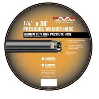 "Mi-T-M AW-0015-0239 Pressure Washer Hose, 1/4"""
