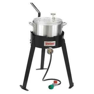 Bayou Classic 2212 22 Inch Aluminum Outdoor Fish Cooker Set