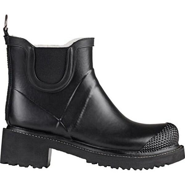 840a8873fa45 Shop Ilse Jacobsen Women s Short Rubber Boot Black - Free Shipping ...