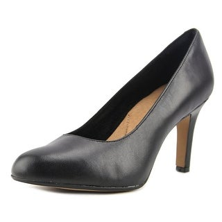 Clarks Heavenly Star Women Round Toe Leather Heels