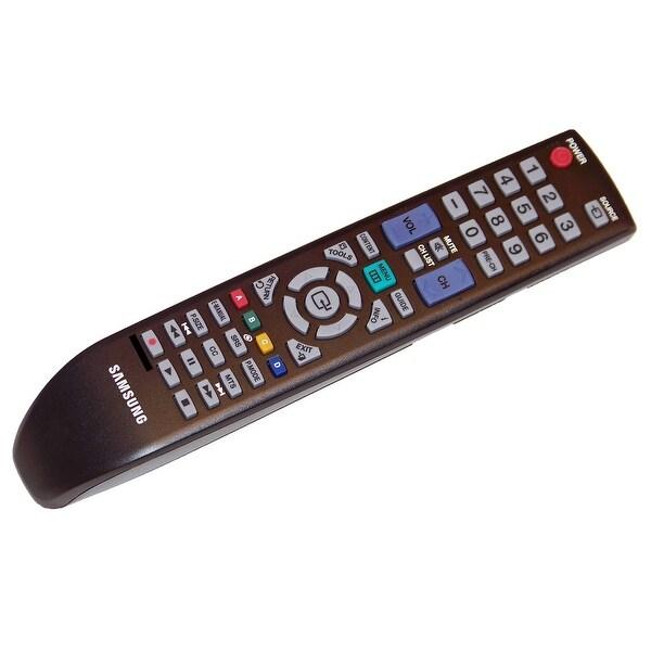 OEM Samsung Remote Control: LN26D450, LN26D450G1D, LN26D450G1DX, LN26D450G1DXZA, LN26D450G1DXZASG01, LN26D450G1DXZX