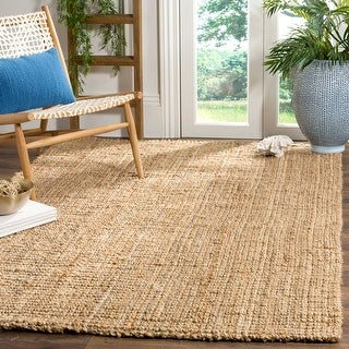 Link to Safavieh Handmade Natural Fiber Beacon Jute Rug Similar Items in Farmhouse Rugs