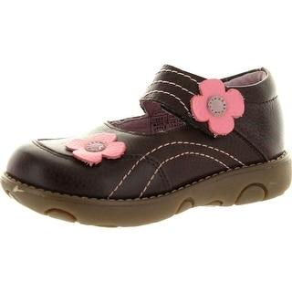Umi Girls Maddie Mary Jane Flats Shoes - Brown - 25 m eu / 8.5 m us toddler