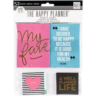 Create 365 Happy Planner Pocket Cards 52/Pkg-