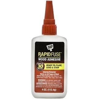 DAP 00157 Rapid Fuse Fast Curing Wood Adhesive, 4 OZ