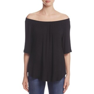 K&C Womens Casual Top Off the Shoulder Bow Back - m