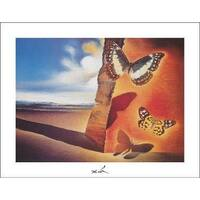 ''Paysage aux Papillons'' by Salvador Dali Museum Art Print (11 x 14 in.)