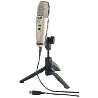 CAD Audio U37 USB Studio Condenser Recording Microphone Champagne