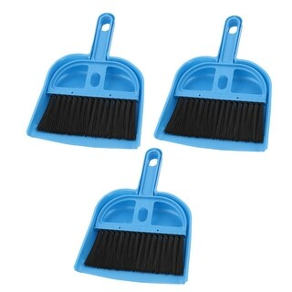 3 Pcs Portable PC Desk Computer Keyboard Duster Cleaning Cleaner Brush Blue