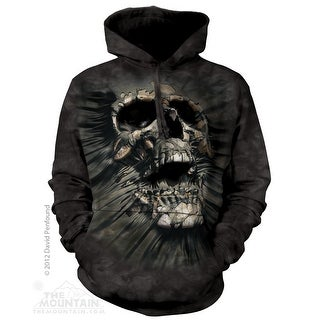 The Mountain Cotton Brkthrgh Skull Hoodie