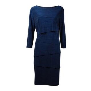Tahari Women's Tiered Sheath Dress