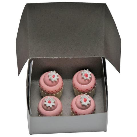 "Bakery Collection 4 Pc Mini Cupcakes for 18"" American Girl Doll Furniture & Play Food Accessories"