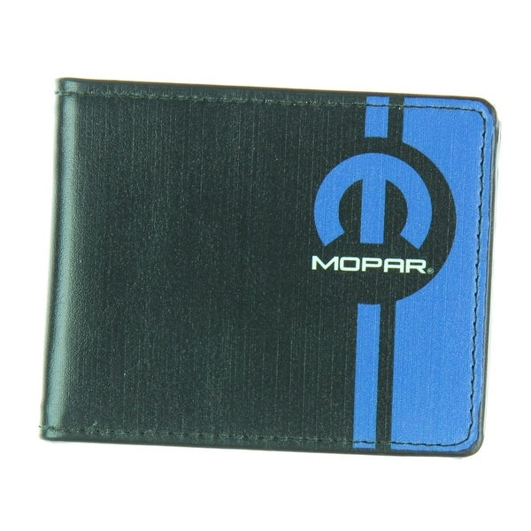 Mopar Black Leather Wallet