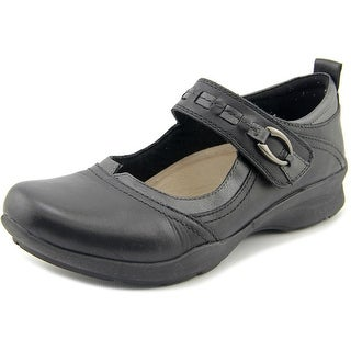 Earth angelica Round Toe Leather Mary Janes