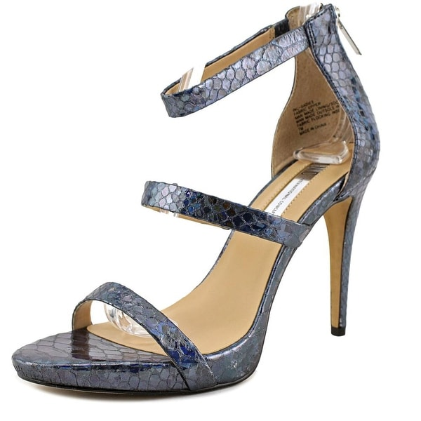 INC International Concepts Sadie Women Open Toe Synthetic Blue Sandals