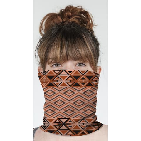"""TEELA CORAL Neck Gaiter By Becky Bailey - 10"""" x 18"""""""