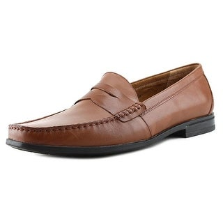 Nunn Bush Westby Penny Men Round Toe Leather Brown Loafer