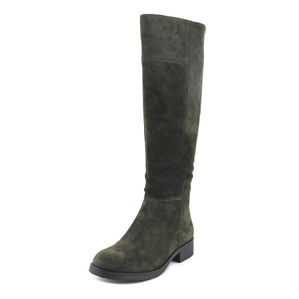 Bandolino Terusa Women Round Toe Suede Green Knee High Boot