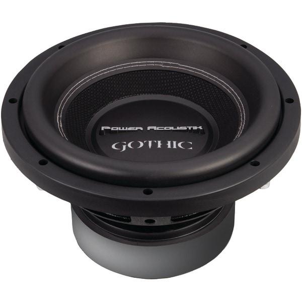"""Power Acoustik Gw3-10 Gothic Series 2Ohm Dual Voice-Coil Subwoofer (10"""", 2,200 Watts)"""