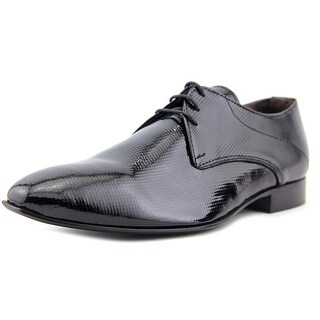 Emerson Microfor Men Square Toe Leather Black Oxford