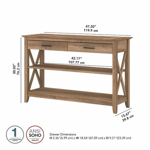 The Gray Barn Console Table With Drawers And Shelves On Sale Overstock 30068568