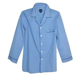 Majestic International Men's Cotton Long Sleeve Long Leg Pajama Set