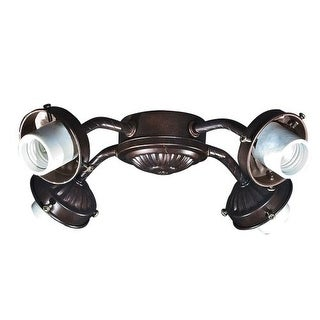 Savoy House FLC418 Main Street Four-Light Ceiling Fan Light Kit with Glass Sold Separately