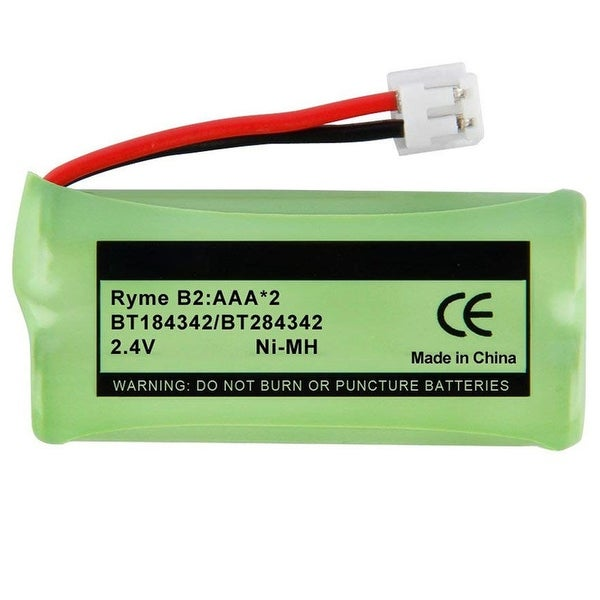Replacement For VTech 6010 Cordless Phone Battery (750mAh, 2.4V, NiMH)