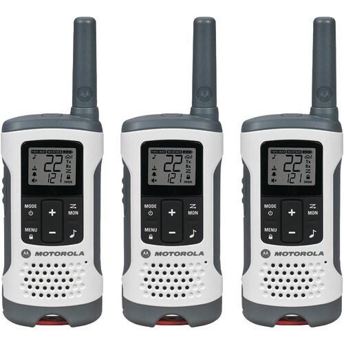 Motorola T260TP 2-Way Radios Triple Pack