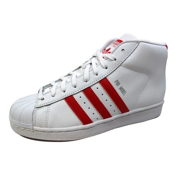Adidas Men's Pro Model White/White B27450 Size 8.5