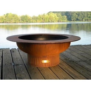 Saturn Fire Pit - Orange