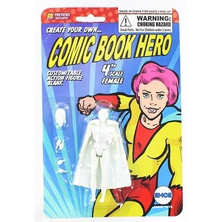 "Create Your Own Comic Book Hero 4"" Female Action Figure"