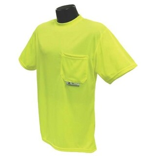 Radians ST11-NPGS-M Non-Rated Short Sleeve Safety T-Shirt, Medium