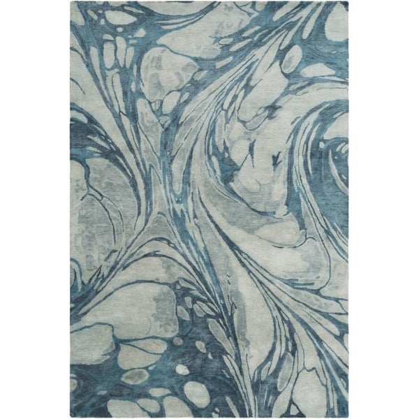 Blue Green Surya Pisces-2 x 3 Area Rug