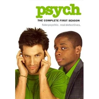 Psych - The Complete First Season - DVD
