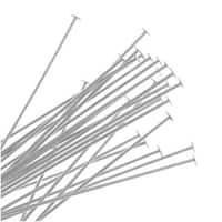 Silver Filled Head Pins 26 Gauge 3 Inch (20)