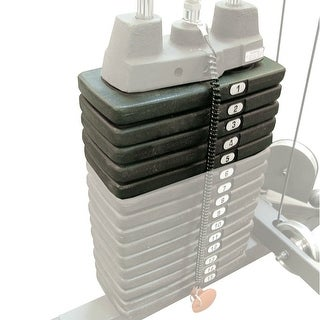 Body-Solid 50 lb Stack Upgrade (for G-Series Home Gyms) - metal
