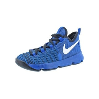 Nike Boys KD9 Basketball Shoes Colorblock Lace-Up