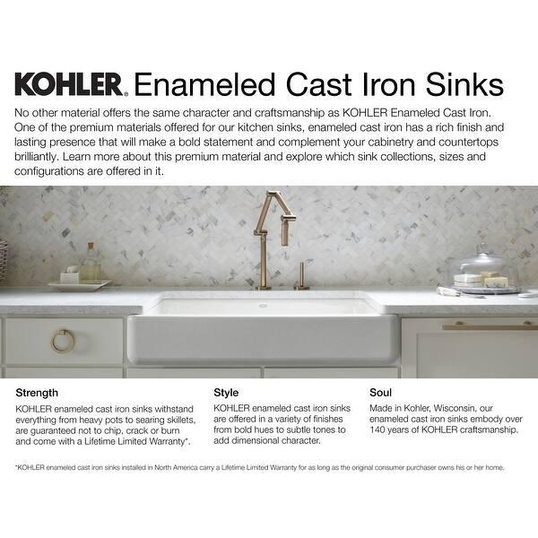 Kohler K-5931-4U Executive Chef 33\