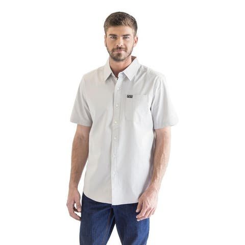 Kimes Ranch Western Shirt Mens Short Sleeve Pocket