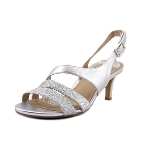 Naturalizer Taimi Women  Open Toe Synthetic Silver Sandals