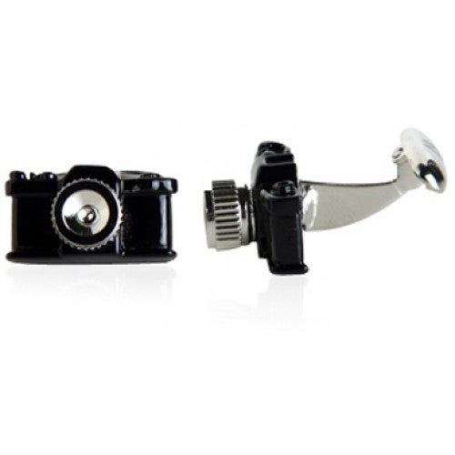 Black Camera Photographer Photography Photographs Pictures Cufflinks