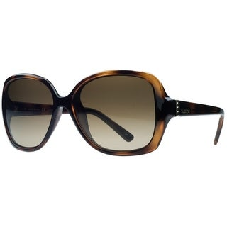 Valentino V637/S 214 Havana Square Sunglasses