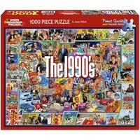 """Jigsaw Puzzle 1000 Pieces 24""""X30""""-The Nineties"""