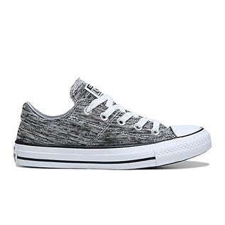 9266a1eb984 Shop Converse Chuck Taylor All Star Madison Ox Black Wolf Grey White  558557F - Free Shipping Today - Overstock - 18281343