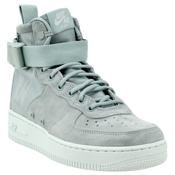 Lamer Hueso lealtad  Nike Womens Sf Air Force 1 Mid Casual Sneakers Shoes - Overstock - 22464524