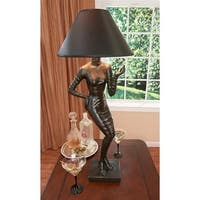 Mademoiselle Haute Couture Table Lamp DESIGN TOSCANO Couture lamp  french lamp
