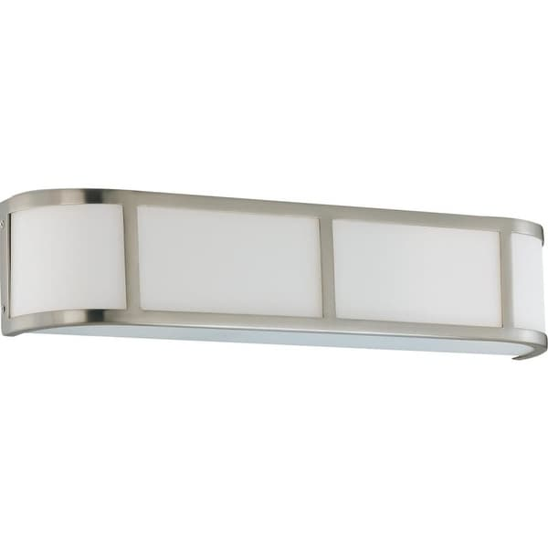 "Nuvo Lighting 60/3803 Three Light Ambient Lighting 23.875"" Wide Bathroom Fixture from the Odeon Collection"