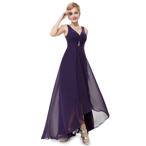 Ever-Pretty Womens Double v-neck Evening Dress 09983